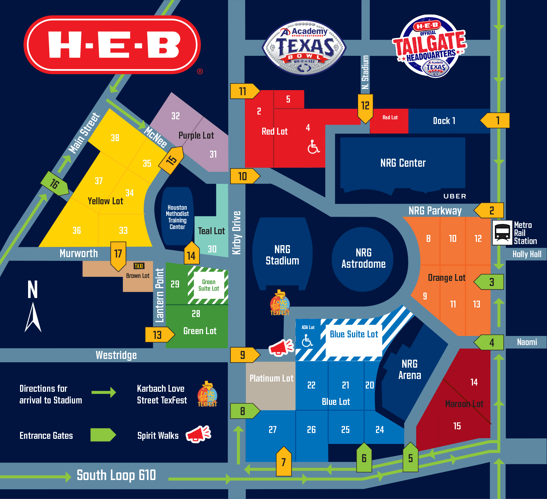 Stadium Info - Academy Sports + Outdoors Texas Bowl